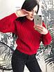 Стильный женский свитер из акрила, фото 2