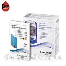 Глюкометр Сателлит Экспресс + 50 тест-полосок