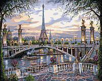 Картина по номерам Идейка Воспоминание о Париже КН1148 40 х 50 см, фото 1