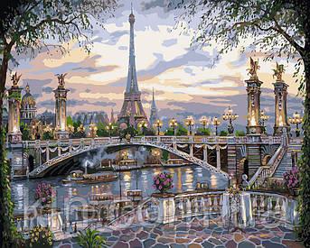 Картина за номерами Ідейка Спогад про Парижі КН1148 40 х 50 см