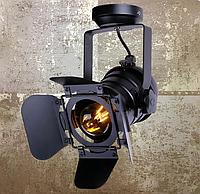 Светильник-кинопрожектор лофт 75220BK черный, фото 1