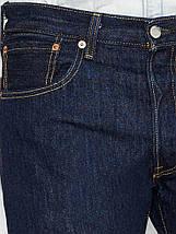 Джинсы Levi's 501 RINSE темно-синий, фото 2