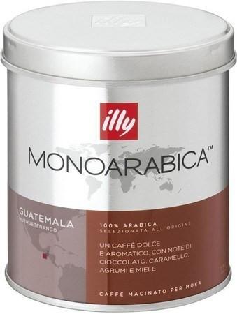 Кофе молотый lly Monoarabica Гватемала 125 г. ж/б Италия (Илли моносорт)