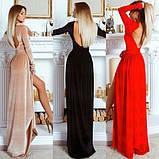 Платье бархатное красное, фото 7