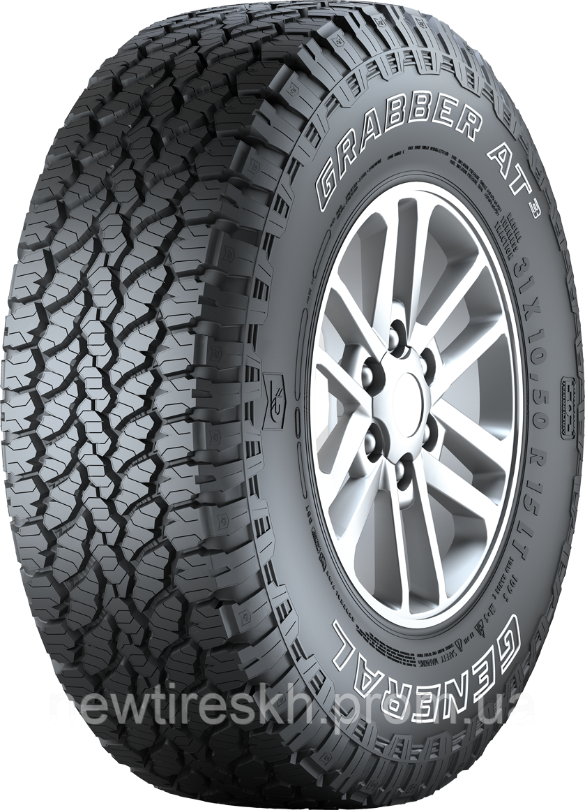 General Tire Grabber AT3 245/75 R16 120S