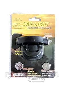 Фонарик  на козырек кепки Cap-Light 5 led