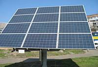 Солнечный трекер ZRS-10B на 4 кВт двухосный