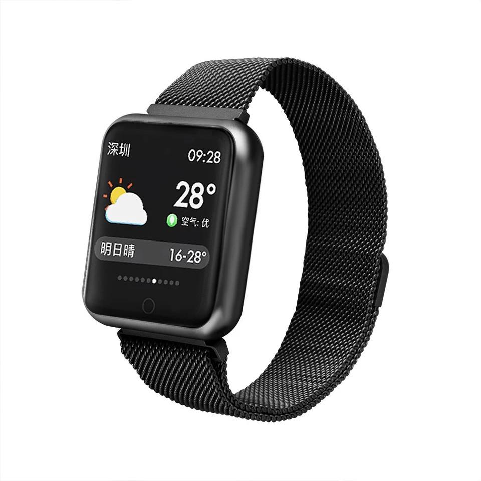 c3ba376f7d62 Смарт-часы Smart Watch P68 Fitness Черный (S545665X5FRG) - Bigl.ua