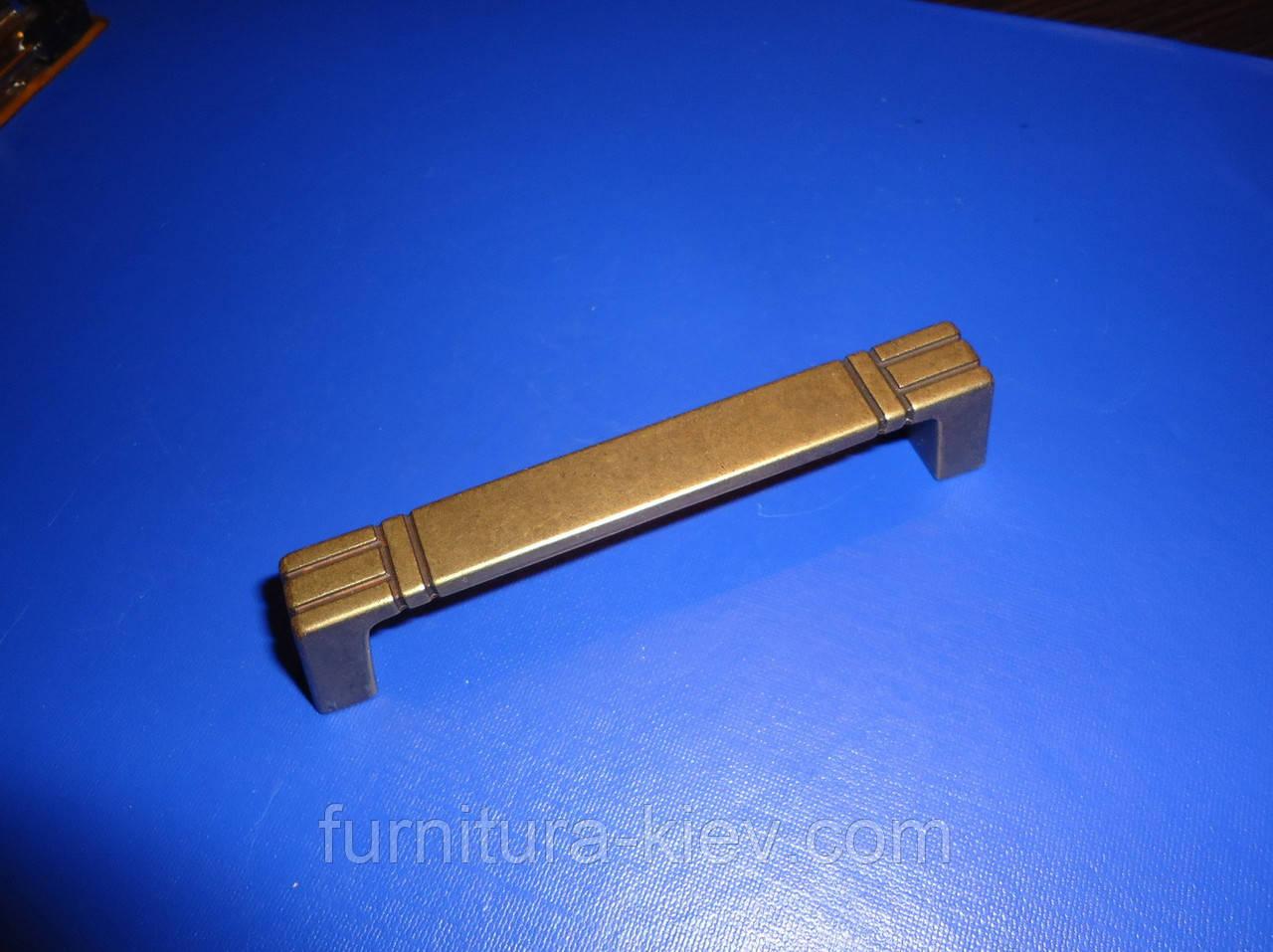 Ручка мебельная UR09 - 96мм, фото 1