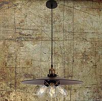 Подвесная люстра лофт на три лампы 7526856-3 BK (400) черный, фото 1