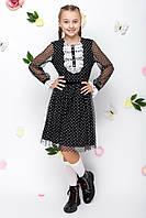 Школьное модное платье