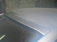 Спойлер Пассат B6 3C дефлектор на стекло (2005 - 2010)