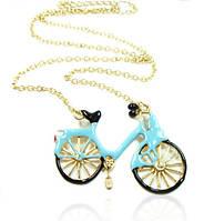 Ожерелье в виде велосипеда - 2