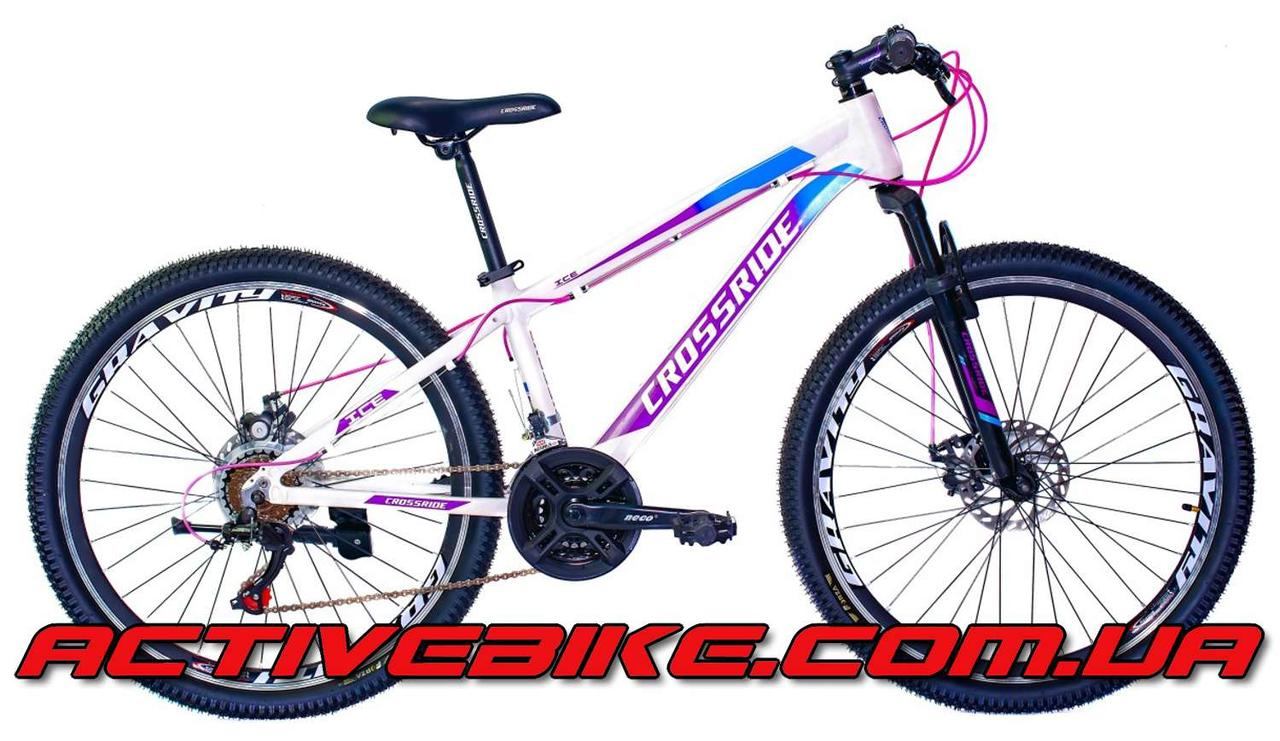 """Велосипед горный CROSSRIDE ICE 26"""" AL."""