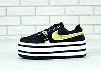 Кроссовки женские Nike Vandal реплика ААА+ размер 36-39 черный (живые фото)