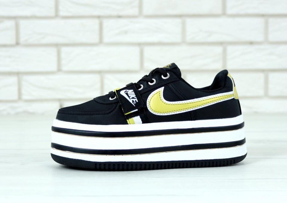 Кроссовки женские Nike Vandal реплика ААА+ размер 36-39 черный (живые фото), фото 1