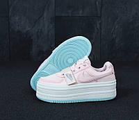 Кроссовки женские Nike Vandal реплика ААА+ размер 36-39 розовый (живые фото), фото 1