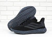Кроссовки мужские Adidas Sobakov реплика ААА+, размер 41-45 черный (живые фото), фото 1