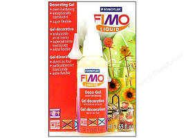 Фимо Гель FIMO Liquid декоративный гель прозрачный,эконом большая уп-ка 200 мл, для множества техник