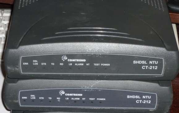 Модем Comtrend SHDSL NTU CT-212 бу