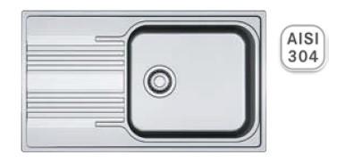 Мойка кухонная Franke SRX 611-86 XL полированная
