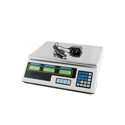 Весы торговые MATRIX MX-410B электронные весы для магазина, фото 2