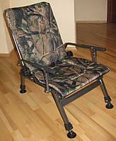 Кресло карповое камуфлированное Elektrostatyk F5R