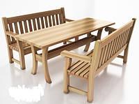 """Набор садовой мебели из дерева """"Хозяин"""""""