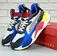 Мужские кроссовки Puma Thunder Spectra Blue. Живое фото (Реплика ААА+), фото 1