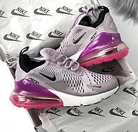 Женские кроссовки Air Max 270 Violet purple. Живое фото, фото 1