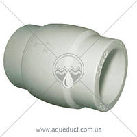 Обратный клапан 32мм Tebo (серый)