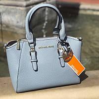 Голубая женская сумка Michael Kors - реплика