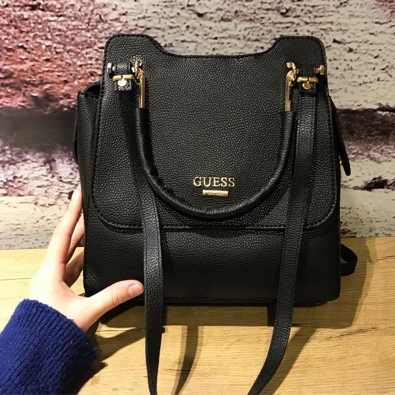 Женская сумочка Guess черная (реплика)