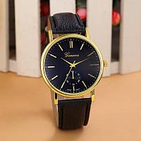 Женские часы Geneva Classic черные