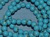 Бусина керамическая жемчуг 6мм, нить 140-150 бусин