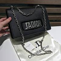 Женская сумочка J'ADIOR black&silver - реплика, фото 1
