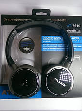 Наушники с Bluetooth AT-7610, фото 3