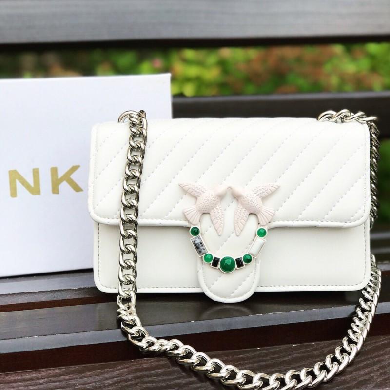 Белая сумочка Pinko / Пинко (Реплика)