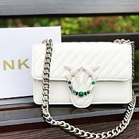 Белая сумочка Pinko / Пинко (Реплика), фото 1