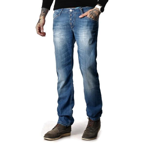 Мужские джинсы светлые Киев FB 12-018 Blue