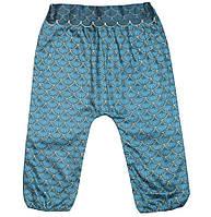Бирюзовые брюки для девочки, Kiabi, VU861