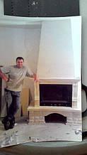 теплота в доме , монтаж дымоходов для твердотопливных котлов, камины монтаж, наши работы  1