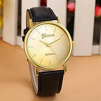 Женские часы Geneva Platinum черные