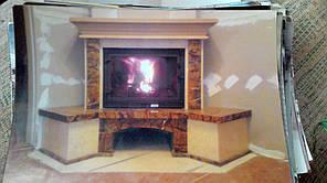 теплота в доме , монтаж дымоходов для твердотопливных котлов, камины монтаж, наши работы  2