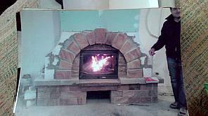 теплота в доме , монтаж дымоходов для твердотопливных котлов, камины монтаж, наши работы  3