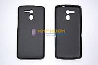 Чехол-бампер крышка силикон TPU матовый Acer Liquid E700 E39 Черный