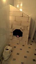 теплота в доме , монтаж дымоходов для твердотопливных котлов, камины монтаж, наши работы  4