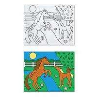 Набор для творчества Рисунок на холсте Лошадка Melissa & Doug