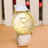 Женские часы Geneva Platinum белые, фото 1