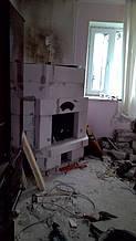 теплота в доме , монтаж дымоходов для твердотопливных котлов, камины монтаж, наши работы  8